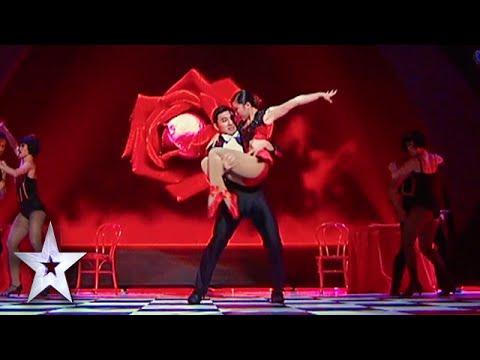 Gao and Liu's GoldenBuzzer Acrobatic Tango | Asia's Got Talent Semis 1