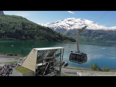 LOEN SKYLIFT HEART OF FJORD   NORWAY gondolbaner