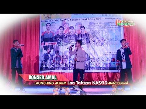 Laa Tahzan Nasyid Kota Dumai : ''Lagu Lautan Negeri ''  diacara Konser Amal dan launching Album