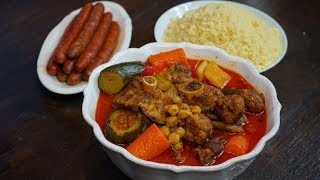 Mon Couscous Royal - Recette facile sans couscoussier - Cooking With Morgane