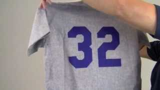 Sandy Koufax Signed Limited Edition Dodgers Jersey - PSA/DNA LE of 169
