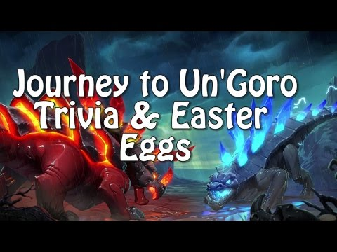 Hearthstone Trivia and Easter Eggs in Journey in Un'goro