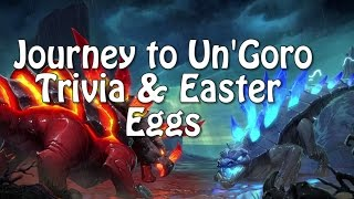 Hearthstone Trivia and Easter Eggs in Journey in Un