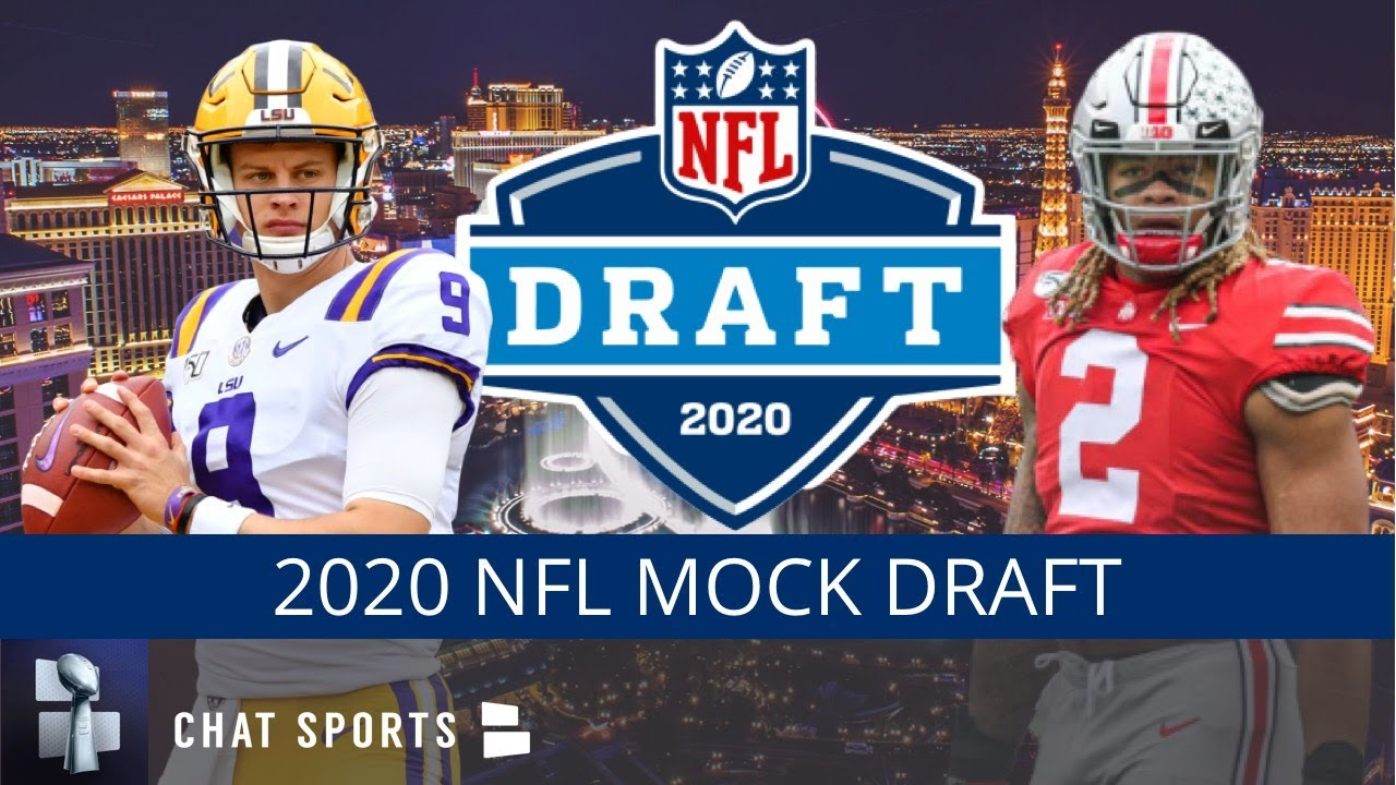 Nfl Draft 2020 >> 2020 Nfl Mock Draft 1st 2nd Round Projections Ft Chase Young Derrick Brown Ceedee Lamb Tua