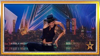 Sets Himself On Fire On Stage And Gets A Golden Buzzer! | Auditions 2 | Spain's Got Talent 2019
