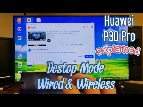Huawei P30 Pro: How To Use Desktop Mode Wired & Wireless (Explained)