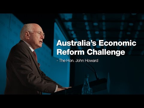Australia's Economic Reform Challenge by the Hon. John Howard OM AC