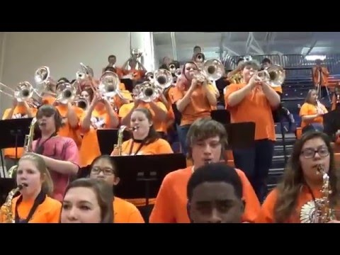 ROMEOVILLE HIGH SCHOOL ALL-STATE PEP BAND AUDITION VIDEO TRIAL 1
