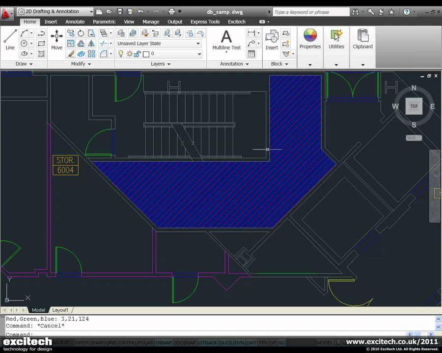 Autocad 2011 Transparency Hatching Youtube