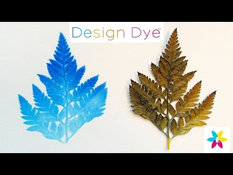 Creating Natural Prints with Design Dye