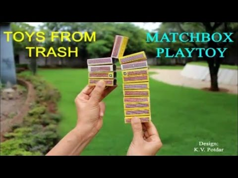 Matchbox Play Toy | English | Fun with Matchboxes!