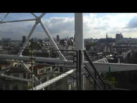 Centre Georges Pompidou, Musee National d'Art Moderne, Part 1,  Paris (October 2014)