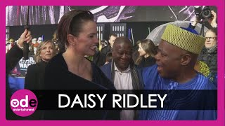 STAR WARS: Daisy Ridley has NICEST moment with John Boyega's dad!
