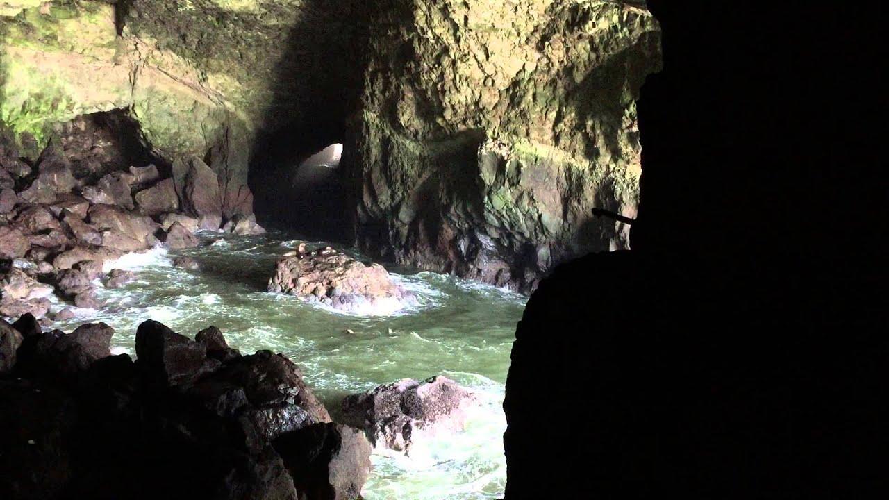 Oregon Sea Lion Caves - YouTube
