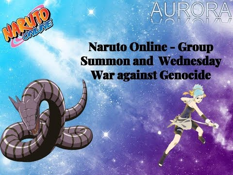 Naruto Online   Group Summon and War Against Genocide