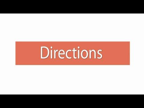 Directions ภาษาอังกฤษ ม.1-3