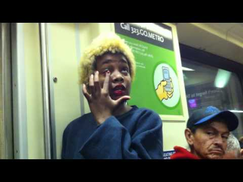 Another Crazy Black Woman on the Metro