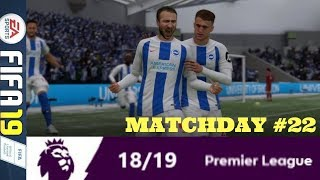 THE OLD MAN AND THE SEA: MATCHDAY 22 PREMIER LEAGUE #ePL (FIFA 19)