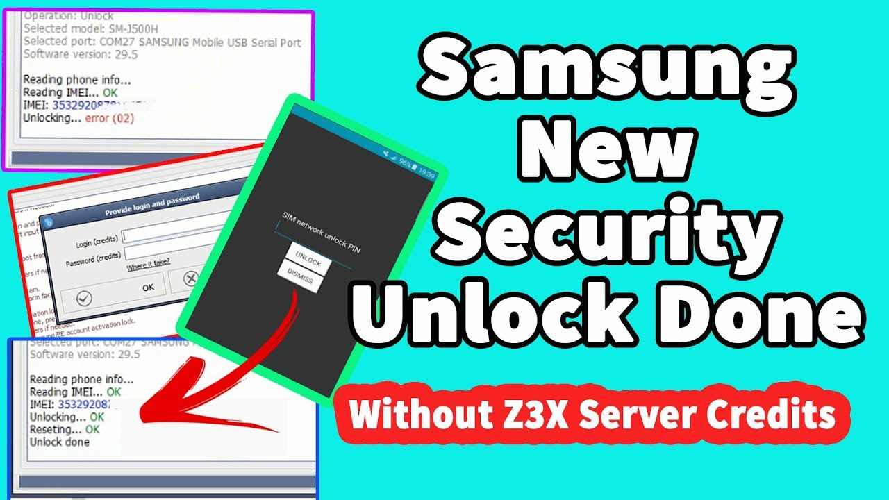 2018 | Samsung J5 New Security Unlock Done | Without Z3X Server Credits