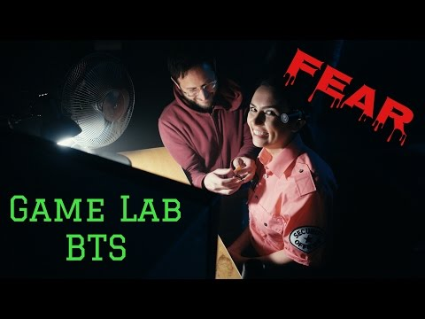 SO SCARY!! Game Lab BTS