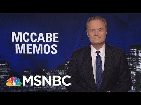 Lawrence: President Trump's Staff Is Keeping Tabs On Their Convos With Him | The Last Word | MSNBC