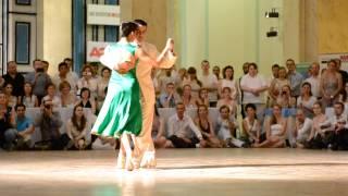 """Sebastian Achaval and Roxana Suarez, valse """"Viejo Porton"""", White nights tango-2013"""