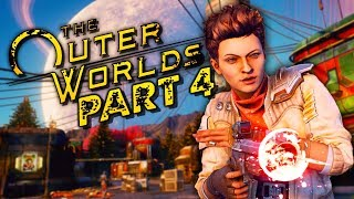"The Outer Worlds Gameplay Walkthrough Part 4 - ""River Hideout"" (Let's Play)"