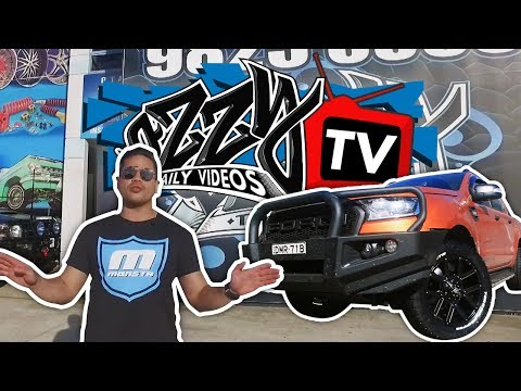 Ford Rangers Get Fitted With New Wheels | Ozzy TV