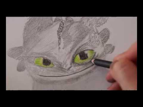 Drachen Zeichnen Fur Dragon Fan Ohnezahn Malen How To Draw Dragon Toothless Risuem Drakona Youtube