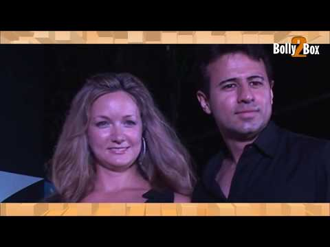 Aryan Vaid With His Wife Alexendra Copley At Event | Bolly2box