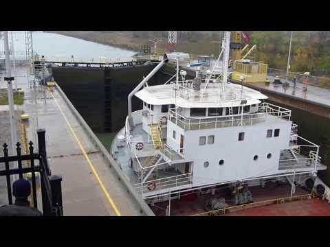 Ship ALGOMA NIAGARA at Lock 7, Welland Canalиз YouTube · Длительность: 5 мин58 с