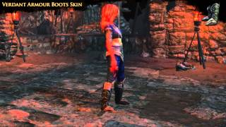 Path of Exile - Verdant Boots Skin