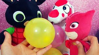 (0.12 MB) Bing non sa gonfiare i palloncini! Ci pensano Gufetta e la Pimpa ad insegnargli! [Audio Educativo] Mp3