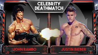 WWE 2K16 Celebrity Deathmatch Tournament :: Justin Bieber vs John Rambo