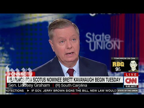 Graham suggests Kavanaugh could overturn Roe precedent