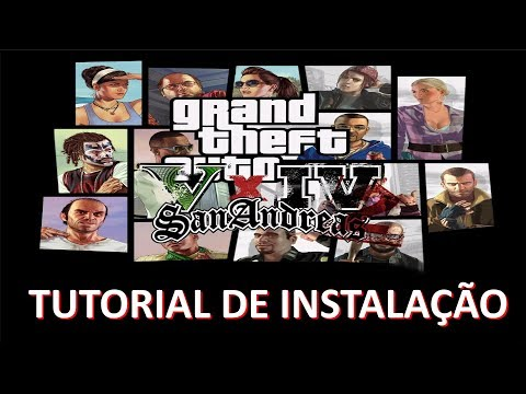 GTA VxIV2SA TUTORIAL DE INSTALACION Grand Theft Auto Beta III DOWNLOAD
