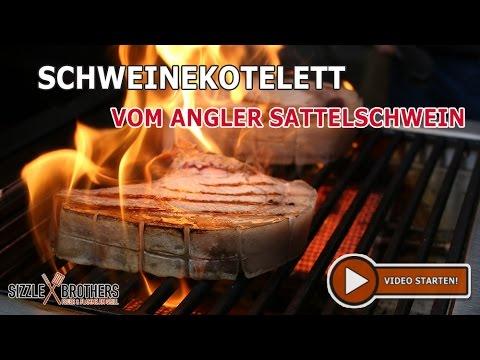 Sizzle Brothers Spareribs Vom Gasgrill : Schweinekotelett vom angler sattelschwein dry aged