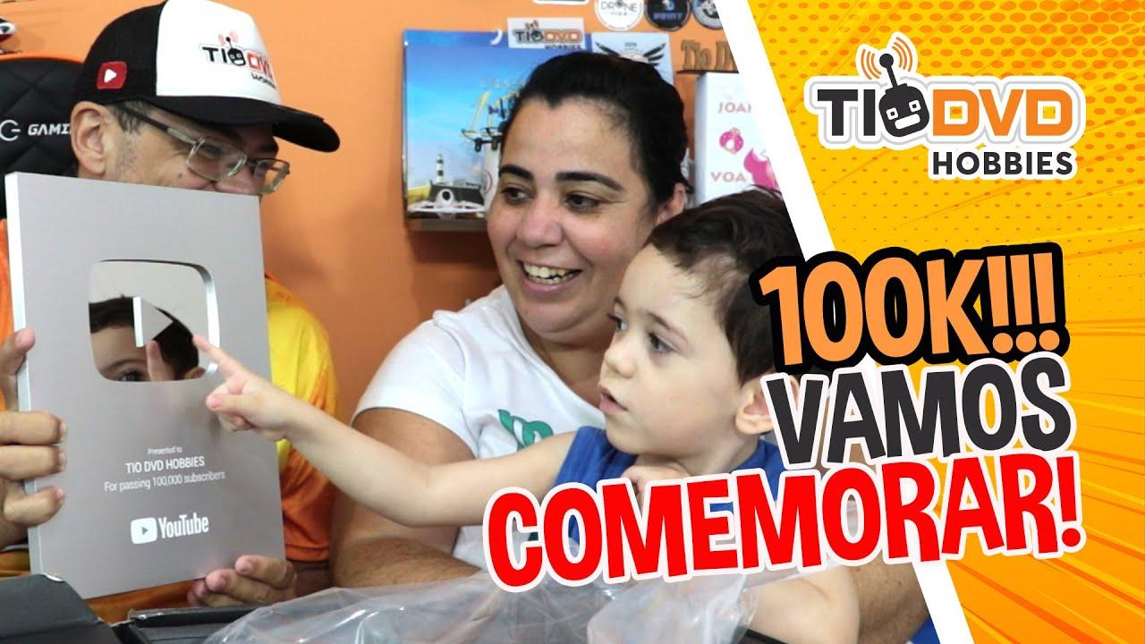 GANHE UM DRONE DJI MAVIC MINI GRÁTIS NA COMEMORAÇÃO DE 100K INSCRITOS DO CANAL TIO DVD HOBBIES