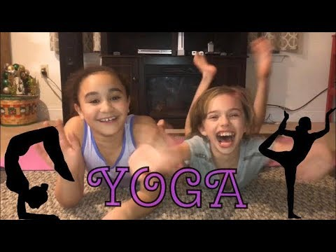 KIDS YOGA CHALLENGE!! SO MANY LAUGHS =)