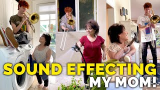 Sound Effecting My Mom!!📯 (FULL COMPILATION)