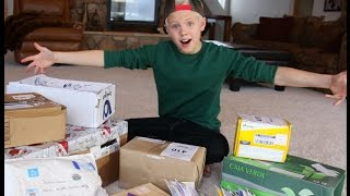 Carson Lueders - FAN MAIL Vlog #4