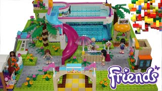 LEGO Friends Fish Summer Pool by Misty Brick.