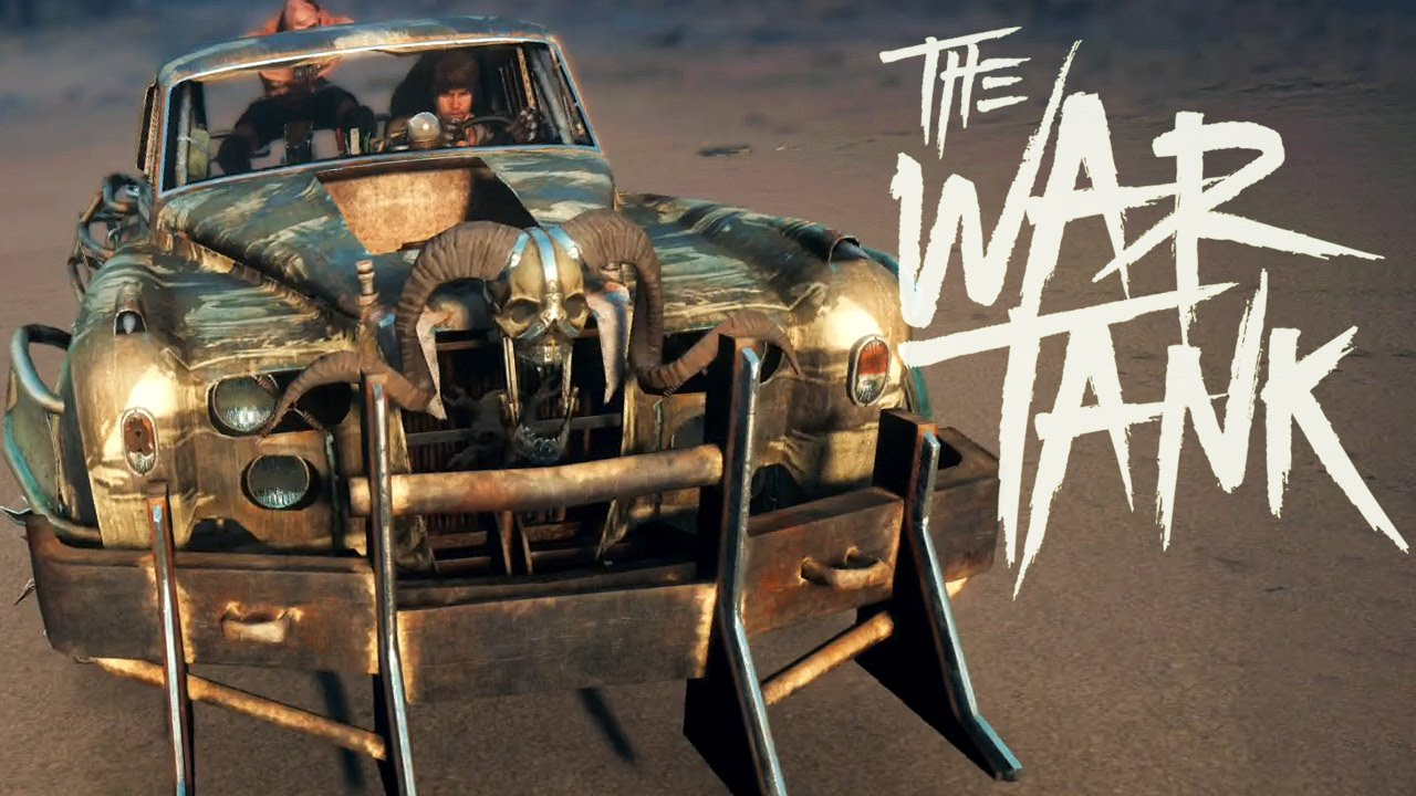 Mad Max Car Build The War Tank Youtube