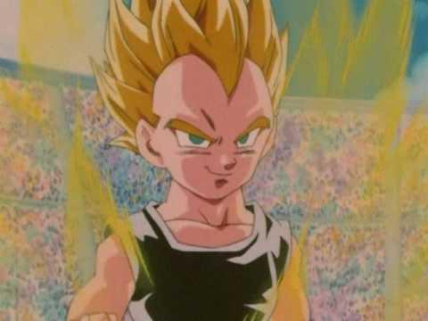 Goku Jr. vs. Vegeta Jr. (English) Good Quality