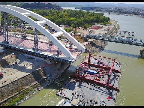 Lansiran novi Žeželjev most * Novi Sad * Launched the new Zezel Bridge