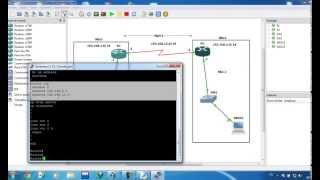 Relier 2 sites avec Virtualbox et Gns3