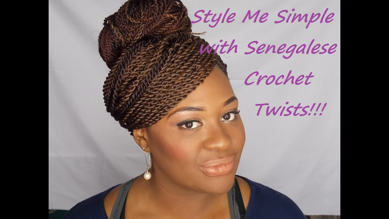 Senegalese Crochet Twist Styles - YouTube