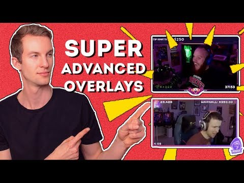 SUPER ADVANCED OBS OVERLAY TEMPLATE (FREE Download 👇)