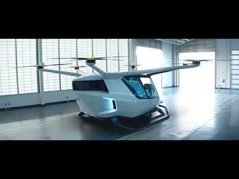 Alaka'i Skai - Hydrogen Powered VTOL Air Taxi