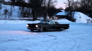 Buick Electra 1959 snowdrift